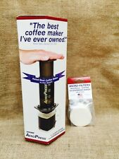 Aerobie Aeropress Ground Coffee Brewer With Extra 350 Filter Papers (700 Total)