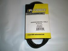 """Cogged auger belt fits ariens 2 stage snowblower 72114 exact size 1/2"""" x 34.9"""""""