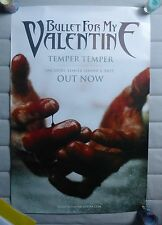 Bullet for My Valentine Temper Temper LP  Official Promo Poster