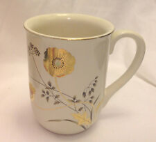 OTAGIRI JAPAN GOLDEN POPPY COFFEE MUG / CUP VINTAGE PORCELAIN ORIENTAL EC