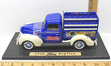 Pepsi-Cola 1940 Ford Replica Delivery Truck Die Cast + Soda Cases 1:18 Scale +++