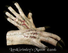 New 2016 White Monster Hands Gloves Halloween Costume Horror Arms Creature