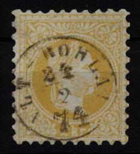 ÖSTERREICH 1867 2kr, gelb, schöne Farbe! ALT-ROHLAU (B) Kl:20Punkte! Schön!