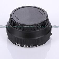 FOTGA Nikon AI F Lens to Olympus Panasonic Micro 4/3 m4/3 Adapter E-PL6 GX7 E-M1