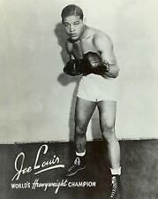 Joe Louis World Heavyweight Champion Text 10x8 Photo