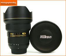 Nikon AF-S Ultra Wide 14-24mm f2.8 Lens G N ed. GRATIS UK