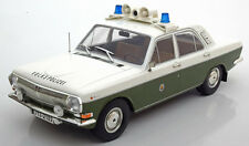 Model Car Group 1967-1992 Volga GAZ M24 Volkspolizei in 1/18 Scale. New Release!