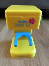 "American Girl Kanani shaved ice machine maker for 18"" dolls frm shaved ice stand"