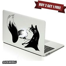 Macbook Air Pro Vinyl Skin Sticker Decal Spice And Wolf Anime Hot Girl Holo m811