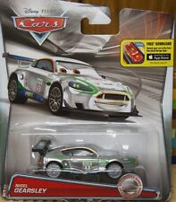 Disney Pixar Cars Silver Racers Nigel Gearsley Special Edition New