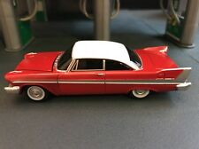 CHRISTINE 1958 PLYMOUTH FURY RARE 1/64 DIECAST COLLECTIBLE MODEL CAR