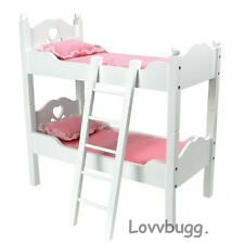 "White Bunk Bed Furniture for 18"" American Girl & Bitty Baby Doll Lovvbugg! Found"
