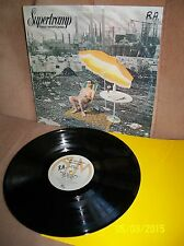 SUPERTRAMP Crisis What Crisis? 1975 A&M LP SP-4842 EXC- w/ sleeve