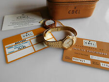 EBEL LADY WAVE 18K (0,750) GOLD 1911 DAMENUHR REF 8057901 ELEGANTER KLASSIKER