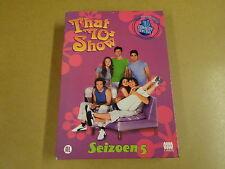 4-DVD BOX / THAT '70s SHOW - SEIZOEN 5