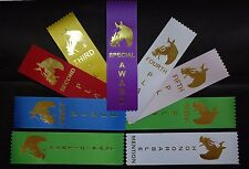 Horse show, LOT OF 100 Award Place Event Prize Ribbons Your choice