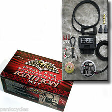 ULTIMA SINGLE FIRE PROGRAMMABLE IGNITION KIT HARLEY V-TWINS CHOPPER BOBBER