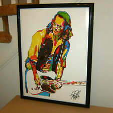 Johnny Depp, Guitar, Guitarist, Musician, Actor, Producer, 18x24 POSTER w/COA
