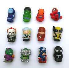 Lots 12pcs MARVEL The Avengers Thor Hulk Spiderman Iron Man X-Men Mini Figure B