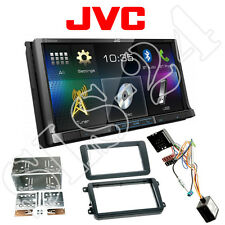 JVC doble 2-din DVD radio Bluetooth VW Amarok caddy cc eos + Can-Bus Interface