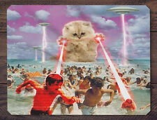 The Cat No One Loved Mouse Pad Mat - Keywords Funny Kitty Rampage Lasers