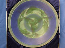 Rare Poole Pottery Studio Large Carp Fish Charger by Sally Tuffin * M1