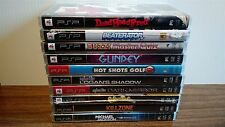 Lot of 10 NEW PSP Playstation Portable Games Killzone Syphon Filter Beaterator