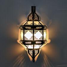 Orientalische Wandlampe Marokkanische Wandleuchte Lampenschirm Comera Amber