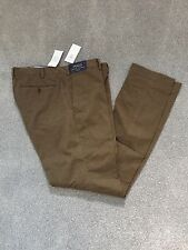 BNWT Ralph Lauren gents polo chino pants size 36 waist 34 leg