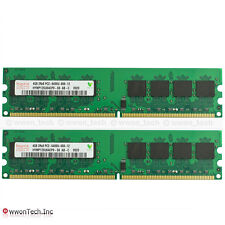 Hynix 8GB Kit 2x4GB PC2-6400 DDR2-800MHz 240pin DIMM Desktop Memory For Intel