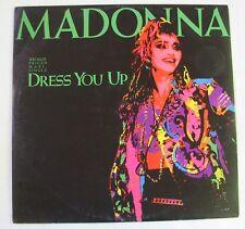 """MADONNA (Maxi 45T 12"""")   DRESS YOU UP"""