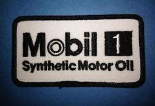 Mobil 1  Gas Oil NASCAR Racing Sponsor Hat Jacket Racing Gear Patch Crest B