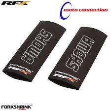 RFX FORKSHRINK UPPER FORK GUARDS WHITE SHOWA HONDA CRF250 CRF450 CR125 CR250