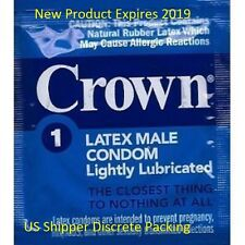 100 Pack Crown Skinless Skin Condoms Bulk Package!