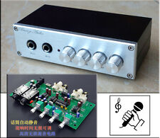 Finished Product OF1 HD 2Mics Karaoke Player Machine Mini Low-Noise Preamplifier