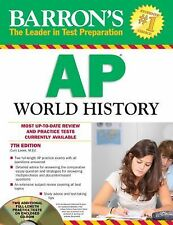 Barron's AP World History with CD-ROM, 5th Edition by John McCannon (2012,...