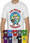 LOS POLLOS HERMANOS T SHIRT BREAKING BAD HEISENBERG WALTER WHITE T-SHIRT TOP