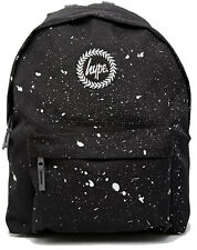 Hype Black White Speckle Backpack Bag  - School Bags - FREE POST - Rucksack