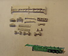 P&D Marsh N Gauge N Scale MV241 40ft Skeletal trailer (3) kit requires painting