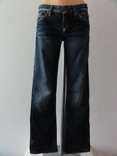 Take Two Jeans Hose Dark Denim Gr.27 / 32 Stonewashed Bootcut Used Look