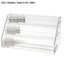New Retails Acrylic 3 Tier E Juice Counter Display 21 in. W x 6 in. D x 11 in. H