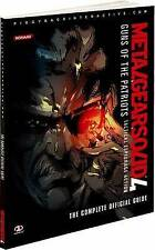 Metal Gear Solid 4: Guns of the Patriots - Complete Official Guide  - Konami New