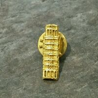 A TOWER Badge ☆ Metal ☆ Pin Badge  ☆ GOLD Colour
