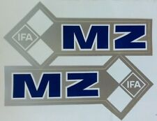 MZ IFA FUEL TANK STICKER SET- BLUE