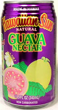 "FULL NEW 11½oz Can ""Taste of Hawaii"" Hawaiian Sun Natural Guava Nectar 2012"