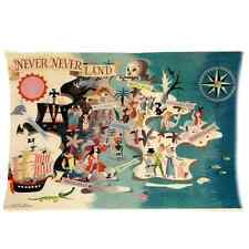 Custom Hot Selling Neverland Peter Pan Pillow case Standard Size 20x30