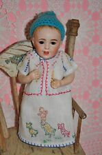 "9"" SFBJ antique 236 baby doll FABULOUS antique clothing"