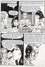 LA LOUVE ET LE PETIT CHIEN (RENAUD) PLANCHE ORIGINALE AREDIT PAGE 85