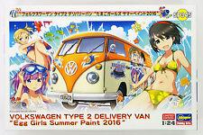 Hasegawa SP345 Volkswagen Type2 Delivery Van Egg Plane Girls Summer Paint 2016