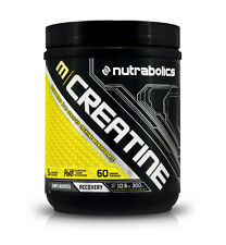Nutrabolics Micronized Creatine Monohydrate - Lean Muscle Growth (60 Servings)